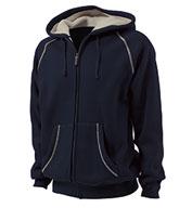 Charles River Adult Thermal Bonded Sherpa Sweatshirt