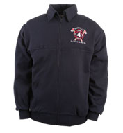Game Sportswear Adult Firefighters Full Zip Work Shirt