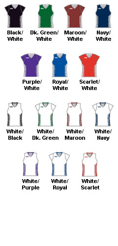 Ladies Anthem Cap Sleeve Lacrosse Game Jersey - All Colors