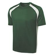 Sport-Tek® Mens Dry Zone® Colorblock Crew