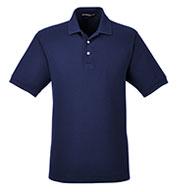 Devon & Jones Mens Pima Piqué Short-Sleeve Polo
