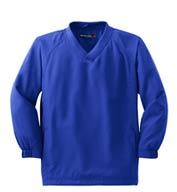 Sport-Tek® Youth V-Neck Raglan Wind Shirt