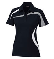 North End Ladies Impact Performance Colorblock Polo
