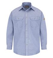 Bulwark Mens FR Dress Uniform Shirt