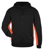 Badger Mens Performance Fleece Hooded Sweatshirt