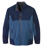 North End Mens Compass Colorblock Soft Shell Jacket