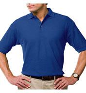 Blue Generation Mens Moisture Wicking Polo