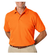 Blue Generation Mens HI Vis Polo Shirt