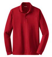 Sport-Tek® Mens Long Sleeve Micropique Sport-Wick® Polo