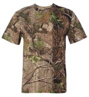 Code V Adult Camouflage Short Sleeve T-shirt