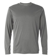 Champion Mens Double Dry® Interlock Long-Sleeve T-Shirt