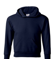 Hanes  Youth EcoSmart®  Hooded Sweatshirt