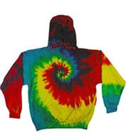 Tie-Dye Youth Pullover Hoodie