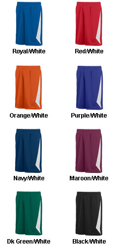 Augusta Adult Slam Dunk Reversible Short  - All Colors
