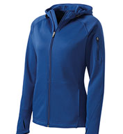 Sport-Tek® Ladies Tech Fleece Full Zip Hooded Jacket