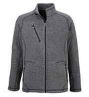 North End Mens Peak Sweater Fleece Jacket