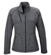 North End Ladies Peak Sweater Fleece Jacket