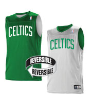 promo code dfcf2 e126d Team NBA Boston Celtics Youth Reversible Jersey