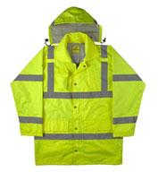 Game Sportswear Adult ANSI/ISEA Rain Jacket