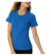 Blue Generation Ladies Short Sleeve Jewel Neck Tee