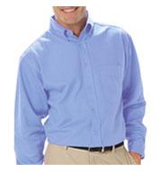 Blue Generation Mens Long Sleeve Value Poplin Shirt