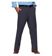 Blue Generation Mens Teflon Twill Flat Front Pants