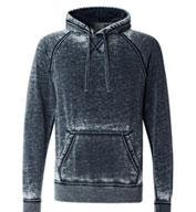 J America Adult Vintage Zen Fleece Hooded Pullover Sweatshirt