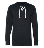J.America Adult Sport Lace Jersey Hooded Pullover