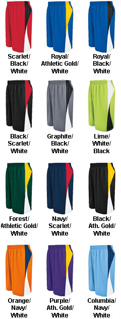 Adult Campus Reversible Game Short - All Colors
