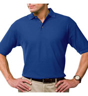 Blue Generation Mens Tall Moisture Wicking Polo