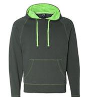 J. America Adult Shadow Fleece Hooded Sweatshirt