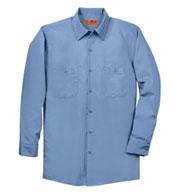 Red Kap Mens Tall Long Sleeve Industrial Work Shirt
