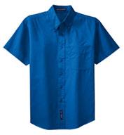 Port Authority® Mens Tall Short Sleeve Easy Care Shirt