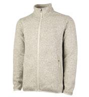 Charles River Mens Heathered Fleece Sweater Jacket