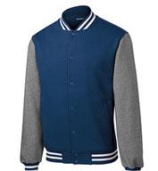 Sport-Tek® Mens Fleece Letterman Jacket