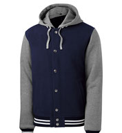 Sport-Tek® Adult Insulated Letterman Jacket