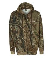 Code V Mens Realtree® Hooded Full-Zip Sweatshirt