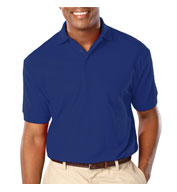 Blue Generation Mens Stain Release Wicking Polo