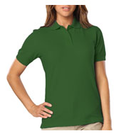 Blue Generation Ladies Stain Release Wicking Polo