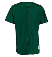 Russell Adult Faux Button Placket Pullover Jersey