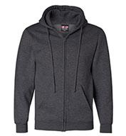 Bayside Adult USA Made Full-Zip Hooded Sweatshirt