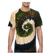 Tie-Dye Adult 100% Cotton T-Shirt