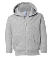 Rabbit Skins Toddler Full-Zip Fleece Sweatshirt