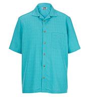 Edwards® Adult Jacquard Batiste Camp Shirt