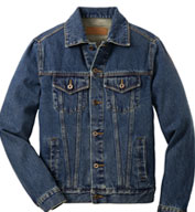 Port Authority® Mens Denim Jacket