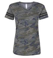 LAT Ladies Vintage Football T-Shirt