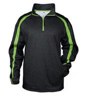 Badger Mens Fusion 1/4 Zip Sweatshirt