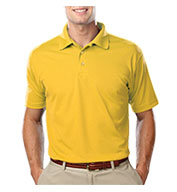 Blue Generation Mens Value Moisture Wicking Polo