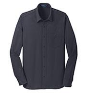 Port Authority® Mens Dimension Knit Dress Shirt
