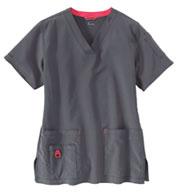 Carhartt Medical Womens V-Neck Media Scrub Top